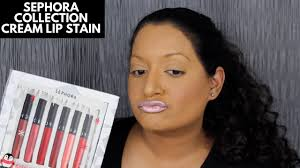 <b>Sephora Collection Cream</b> Lip Stain Collection Review - YouTube