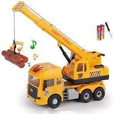 ZhaoXH Children's Toy Crane Truck Simulation Crane ... - Amazon.com