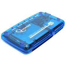 <b>Картридер Gembird FD2-ALLIN1</b> FD2-ALLIN1 Blue — купить, цена ...
