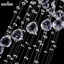Modern Crystal Chandeliers For Dining Room Modern Luster Crystal Chandeliers Lighting Fitting Double