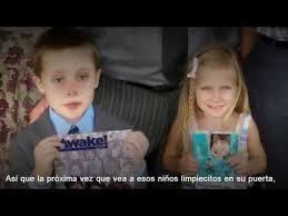 Resultado de imagen para NIÑOS TESTIGOS DE jEHOVÁ PREDICANDO
