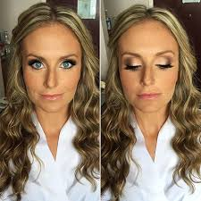 bridal hair makeup for today 39 s wedding at hayloft on the arch