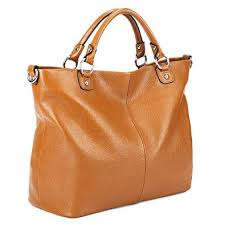 Kattee Women's Soft Genuine Leather Tote Bag, Top ... - Amazon.com