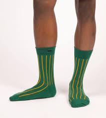 <b>Evergreen</b> Les Lignes <b>Men's Crew</b> Socks