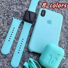 TPU Silicone <b>Earphone Case for AirPods</b> Protective Cover and ...