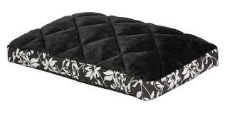 <b>MidWest лежанка Sofia</b> в клетку <b>плюш</b>, черная - купить в интернет ...