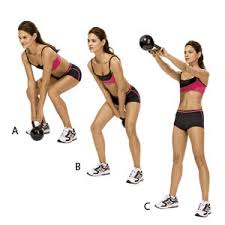 Image result for woman overhead kettlebell squat workout