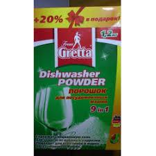 Отзывы о <b>Порошок</b> для посудомоечных машин <b>Frau Gretta</b>