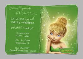 printable tinkerbell invitation templates com printable tinkerbell birthday party invitations