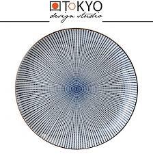 Обеденная <b>тарелка</b> SENDAN голубой, D 25 см, <b>TOKYO DESIGN</b> ...