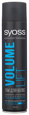 <b>Syoss Лак для волос Volume</b> lift, экстрасильная фиксация ...