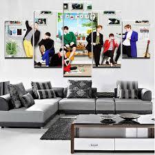 <b>Painting</b> Cuadros Home <b>Decoration</b> Framework 5 Panel Game ...