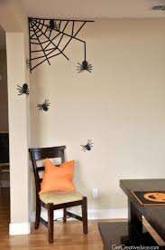 halloween gallery wall decor hallowen walljpg  halloween decorations home tour quick and easy ideas halloween wall decorations halloween wall decorations