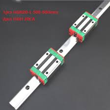 <b>1pcs</b> Original New HIWIN <b>HGR20</b>-500mm/<b>600mm linear guide</b>/rail+ ...