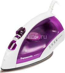 Купить <b>Утюг PANASONIC NI-E610TVTW</b>, фиолетовый в интернет ...