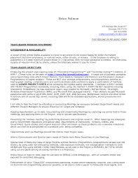 resume team leader resume sample perfect team leader resume sample