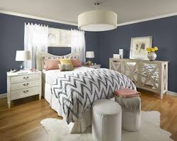 bedroommodern gray and white bedroom with leather coated bed also white mdf nightstands retro bedroom grey white bedroom