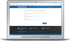 self service password reset help desk software nethelpdesk self service password reset security questions