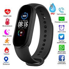 M4 <b>M5</b> Smart Band Fitness Tracker <b>Smart Watch</b> Smarthwatch ...