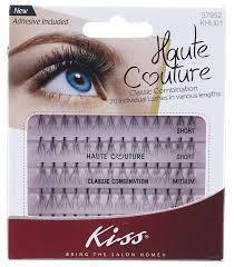 <b>Kiss Haute Couture Trio</b> Lashes - Short Combo - The Makeup Armoury