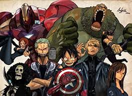 HiddenSupplies.com One Piece Meets Avengers Play ... - Amazon.com