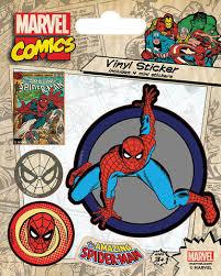 Купить «<b>Набор стикеров Marvel</b> Comics (Spider-Man Retro)» по ...