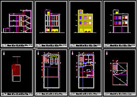 House plan in AUTOCAD DRAWING   BiblioCADHouse plan  dwgAutocad drawing