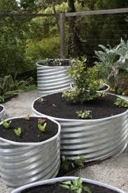 garden and outdoor decor metal culverts good idea for planters or outdoor seats roll edges to d