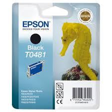 <b>Картридж Epson T0481</b> (C13T04814010), <b>черный</b>, для струйного ...