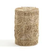 Корзина для белья, в.60 см, из плетеной манильской пеньки ...