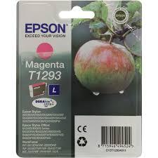 Оригинальный <b>картридж Epson</b> T1293 (пурпурный экономичный ...