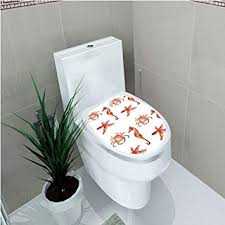 Amazon.com: <b>Toilet Sticker</b>,<b>Animal</b>,Elephant with Internal Traditional ...