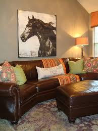 view full size brown furniture wall color