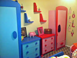 cheerful kids bedroom ideas furniture ikea room with red f and blue painted wooden drawer cabinets blue kids furniture wall