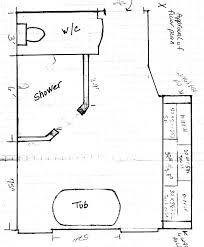 layouts walk shower ideas: great ideas layout doorless shower design ideas with bathroom layout