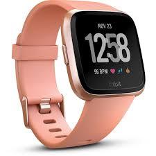 <b>Fitbit Versa Smart</b> Fitness Watch (Peach)   JB Hi-Fi