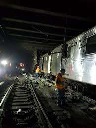 Subway Derailment In Harlem Caused By