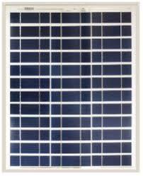 Ameresco Solar - 40J <b>40W Solar Panel</b> | altE
