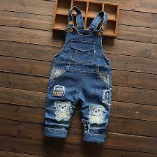 <b>DIIMUU Toddler Baby</b> Overalls <b>Kids</b> Clothing Boys Girls Denim ...