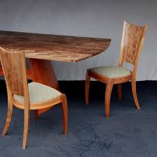 dining table woodworkers: this  akira dining table and chairs this