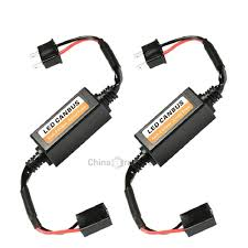 Dropshipping for <b>2PCS H7 LED Car</b> Headlight Adapter Anti-Flicker ...