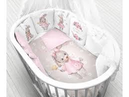 <b>Комплект Моей крохе</b>, Зайка, 12 бортиков, постельное белье ...