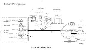 wire diagram sr189 dirt bike wire diagram >
