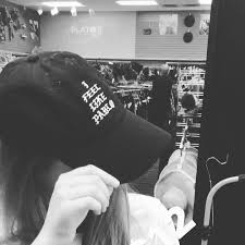 """ <b>I feel like Pablo</b>"" baseball cap $12