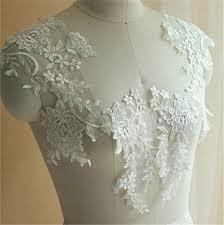 Lace Embroidery Motif, Wedding <b>Lace Applique</b>, Floral Lace Motif ...