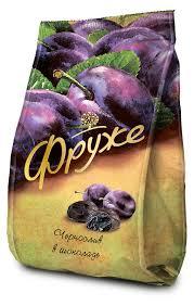 Купить <b>Конфеты</b> «Фруже» <b>чернослив в</b> шоколаде, 190 г с ...