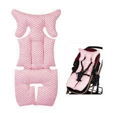 LightSmile 2 Sides <b>Baby</b> Stripe <b>Printed Stroller Pad</b> Seat <b>Cushion</b> ...