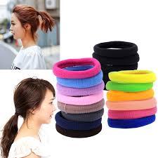 Buy Online <b>50Pcs</b> New Women Girl Hair <b>Band</b> Ties <b>Elastic Rope</b> ...