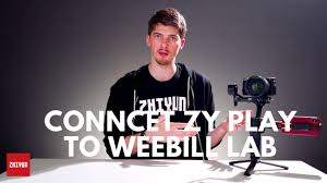 Connect Zhiyun Weebill LAB to ZY Play APP - YouTube