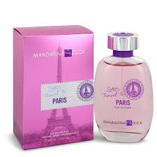 Mandarina Duck <b>Mandarina Duck Let's Travel</b> To Paris Perfume 3.4 ...